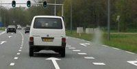 Onze 'gewone' auto, het VW-busje...