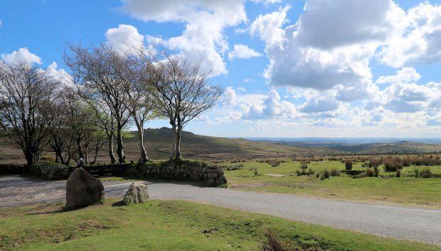 Een laatste blik over Dartmoor...