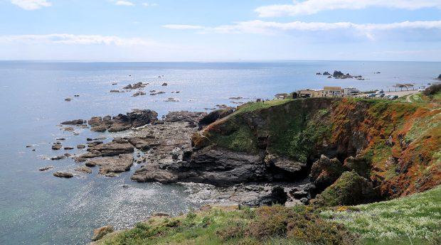 Lizard Point, het zuidelijkste puntje van Engeland.