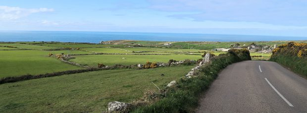 Cornwall, de westkust.