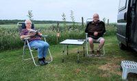 Op camping Berghemmerhof, Gulpen (Zuid-Limburg)
