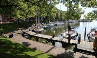 Lommerijk parkje bij de jachthaven...