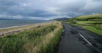 Arran, landschap langs de oostkust van het eiland.