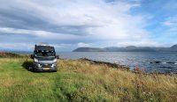 Een eenzaam plekje op Kintyre, langs de zee...