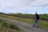Op weg naar de Standing Stones.