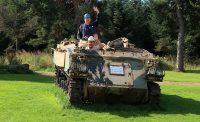 Wietse en ik zouden even de tank ophalen...