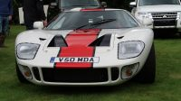 Een Ford GT40 replica, een echte kost miljoenen.