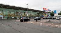 Tesco, één van de grotere supermarkten in Groot Brittannië.