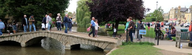Beredruk in Bourton-on-the-Water...