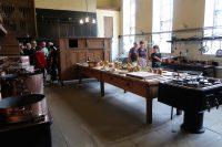 De grote keuken, maar er waren er nog veel meer...