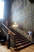 Het trappenhuis...
