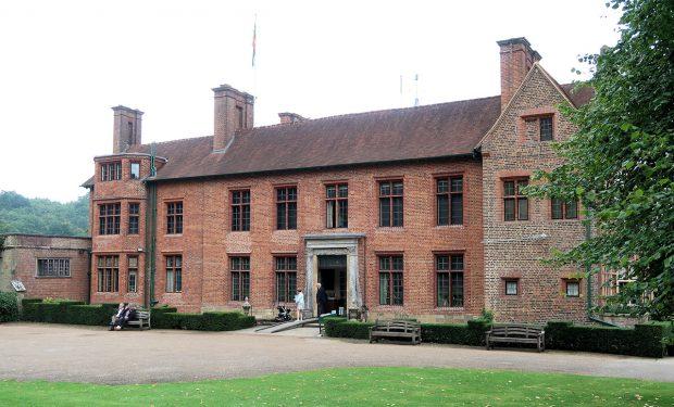 Voorzijde van het huis van Sir Winston Churchill.