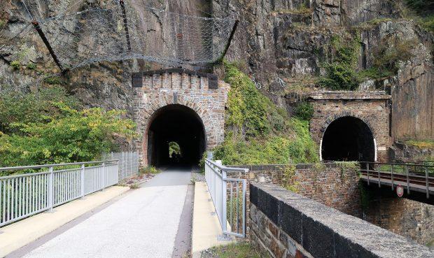 De eerste fietstunnel!