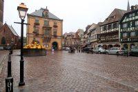 Obernai: het marktplein.