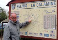 """In Kelmis, de voormalige """"hoofdstad"""" van Neutraal-Moresnet."""