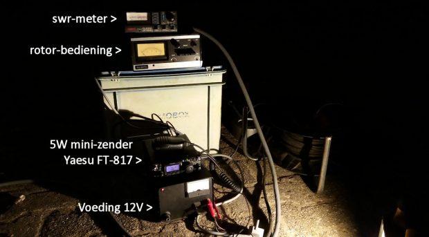 Snel even testen: Marokko op 20m, met minder dan 5 Watt, de energie van een fietslampje!