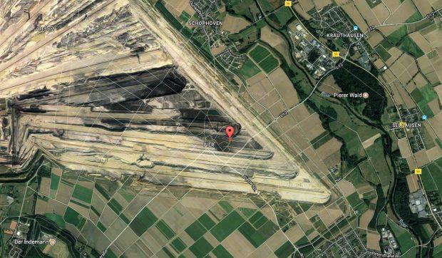 ... op de Google satellietfoto 2017 is Pier toch echt verdwenen!