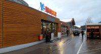 De V-Markt, een supermarkt waar we al jaren komen...