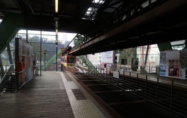 Op station Hauptbahnhof. Van hieruit wandelen we het centrum in.