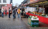 Er is markt op de Markt in Wipperfürth...