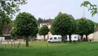 De (mooie!) camperplaats van Chaource.