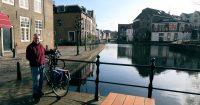 Onderweg in Schiedam.