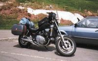 Mijn trouwe Honda VF700C...