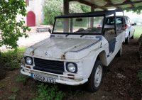 De van TV bekende Citroën Mehari van Ilja Gort.
