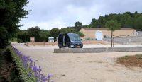 Maar liefst 30 campers kunnen er overnachten bij het Domein de Lauribert.