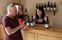 Wijnproeven op het Domain Font Sarade.