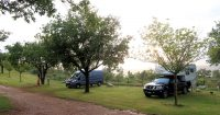 Camping de l'Aigle - Campasun, 300m lopen van het dorpje Aiguines.