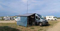 """Camperplaats """"Bonne Terrasse"""" bij Ramatuelle."""
