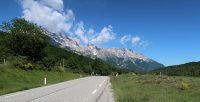 Onderweg van Gap naar Grenoble.