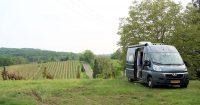 Ons plekje bij Domaine Blié in de Gers.
