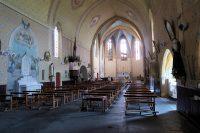 De eenvoudige, oude kerk. Ruim voor een gemeente met 367 inwoners...