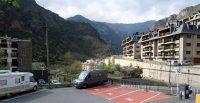 Camperplek in Andorra, in het plaatsje San Julià de Lorià.