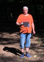 Joeri. Miste onderweg één vosje en verloor... (Foto Arbo PH0AS)