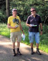 Jan Reint en Hans met veel plezier onderweg. (Foto Arbo PH0AS)
