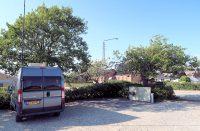 De camperplaats in Bronderslev.