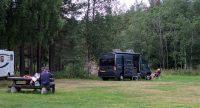 Op de camping in Al, tussen Geilo en Gol.