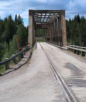 De combi-brug: voor treinen én auto's!