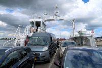 Op de veerboot over het Limfefjord.
