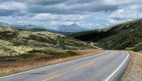 Onderweg op het eerste deel van de route, dóor Rondane.