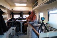 Joeri had overal video-cameraatjes opgesteld, misschien komt er nog een film!