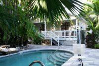 Het Westwinds Inn hotel in Key West. Het is maar voor één nachtje, maar het ziet er veelbelovend uit!