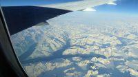 Groenland vanuit de lucht.