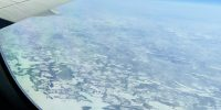 Canada vanuit de lucht.