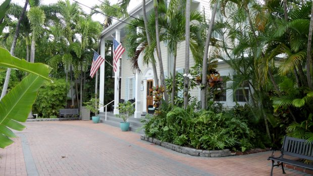 Ons hotel in Key West.