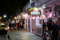 In Duval Street, het kloppend hart van Key West.