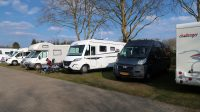 De camperplaats voor 8 campers in Raesfeld.